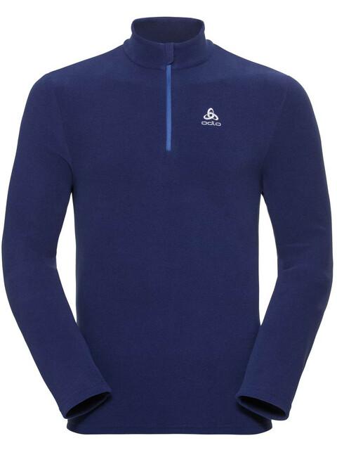 Odlo Roy 1/2 Zip Midlayer Men sodalite blue-diving navy-stripes